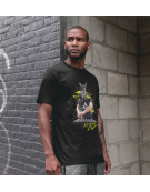 T-Shirt (H) Zebre in Mix