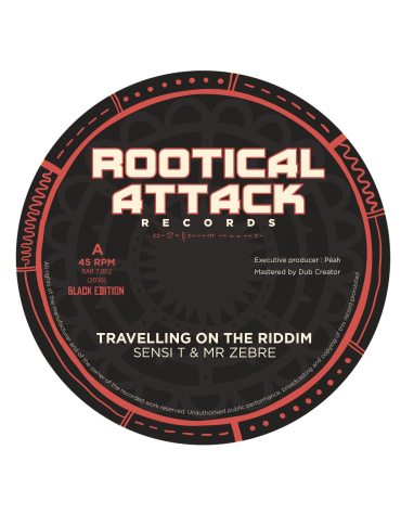 Travelling on the riddim / Travelling on the dub - Sensi T & Mr Zebre