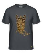 T-Shirt (H) Zebre Gold