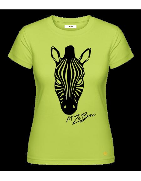 T-Shirt (F) Wild Zebre