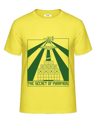 T-Shirt (H) Secret Of Pyramids