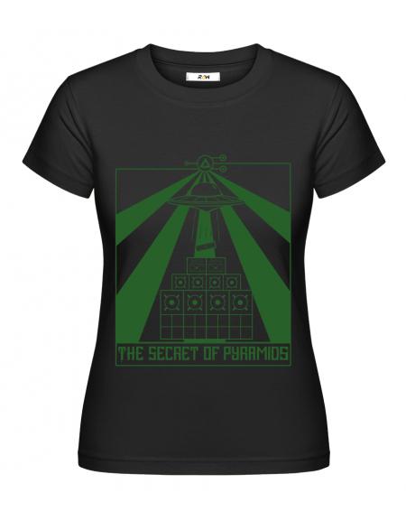 T-Shirt (F) Secret Of Pyramids