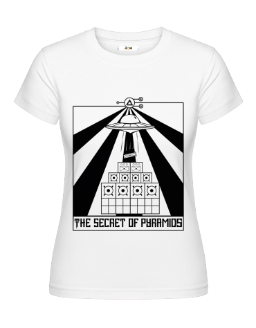 T-Shirt (F) Secret Of Pyramids