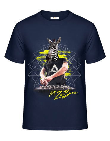T-Shirt (H) Zebre in Mix